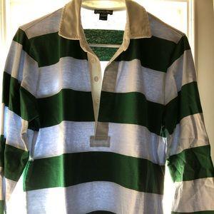 J. Crew Rugby Stripe Polo